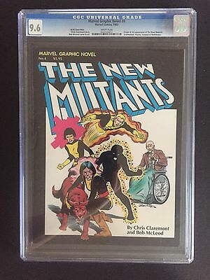 Marvel Graphic Novel 4 CGC 9.6 Canadian Price Variant 1st Appearance New Mutants