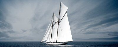 'Eurographics ba4029 – Glass – Sail to the Liberty 50 x 125 cm