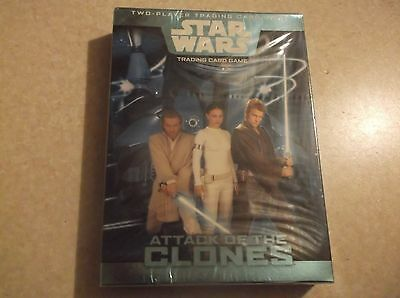 STAR WARS Attack Of Clones TRADING CARD GAME BOX SET Boys Gift Pack Toy NEW