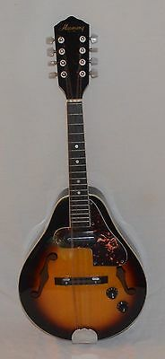 Vintage Harmony Mandolin - Electric, Acoustic. Real Clean