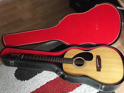 Yamaha FG-75 Nippon Gakki red label MIJ Acoustic guitar