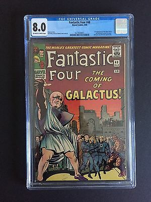 Fantastic Four 48 CGC 8.0 First Appearance Of The Silver Surfer & Galactus