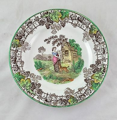 Vintage Copeland Spode's Byron Set of 2 Salad Plates - Made In England