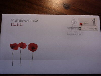 Australia FDC First day cover 2011 Remembrance Day