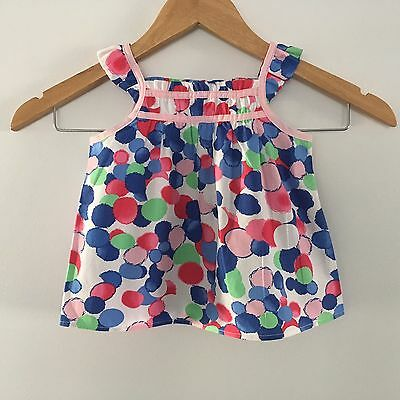 Origami (Myer) Tank Top Size 0 Girl