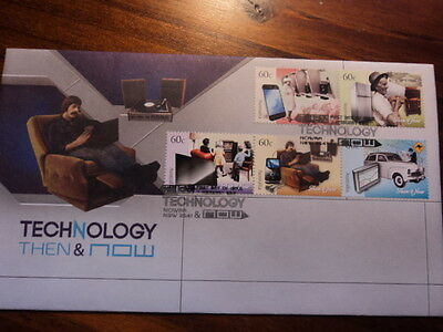 Australia FDC First day cover 2012 Technology then & now