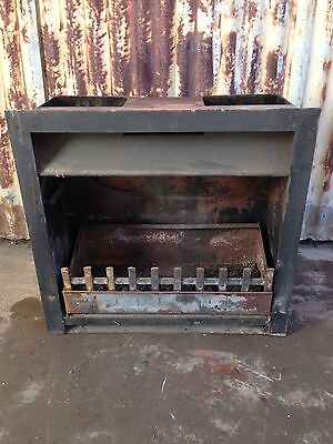 Steel Inbuilt Fireplace 650w X 650h X 365d