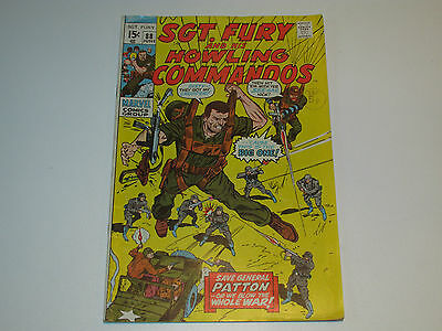 Marvel Comics Sgt. Fury And His Howling Commandos #88 Vg