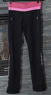 Lululemon Black Running  Pant Yoga Size 4