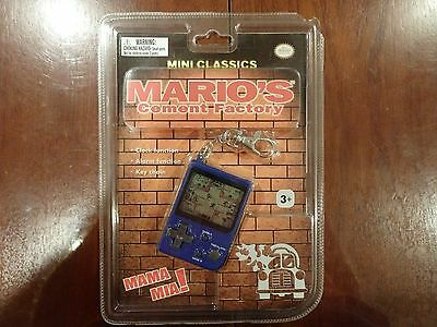 Mint Sealed Nintendo Mini Classics Game & Watch Mario's Cement Factory