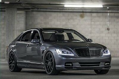 2010 Mercedes-Benz S-Class AMG Pkg 550,AMG Pkg,Pano-roof,TVs,Subs,Stealth radar,Illuminated Star,Staggered wheels