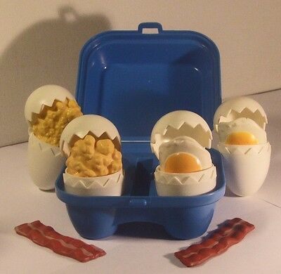 Fisher Price 1987 Bacon & Eggs Fun With Food #2127 Complete