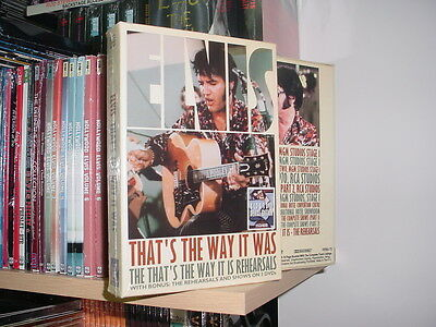 Elvis Presley: That's the Way It Was 3 DVD/8 CD Boxset NEW! (THE COMPLETE WORKS)