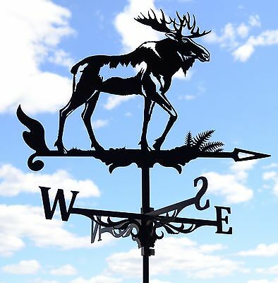 Alce Moose Metal Weathervane Tetto di montagna Vane Wind Decor Alces