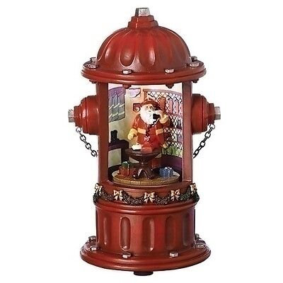 """New Roman Inc Musical 8.25"""" LED Fire Hydrant 130221 FREE SHIPPING"""