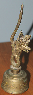 RARE Antique BRONZE CHINESE Dragon BELL