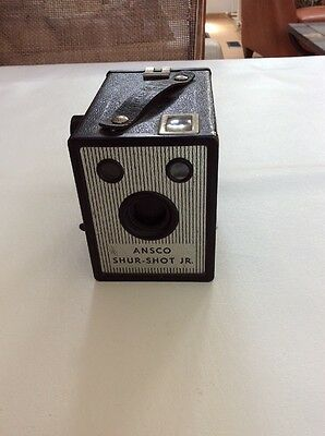 Vintage Ansco Shur-Shot Jr Box Uses 120 Film