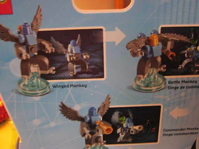 Lego Dimensions /witch And Monkey Building Set!