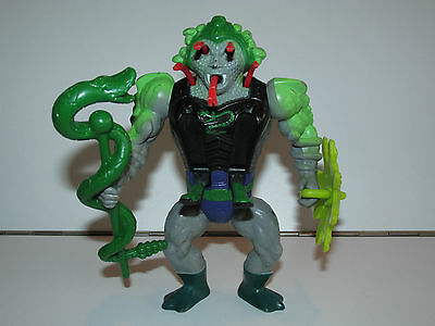 Motu He-Man Masters Of The Universe Snake Face 100% Complete - Mattel