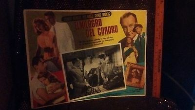 1952 El Milagro Del Cuadro (The Light Touch) Spanish lobby card 12 1.2 by 17 1/2