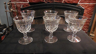 Fostoria Colony Set of Six  9 Ounce Goblets