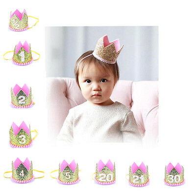 Lovely Birthday Princess Prince Crown Party Headgear Birthday Party Decorations