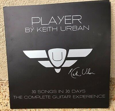 Unused? PLAYER by Keith Urban 30 Songs in 30 Days COMPLETE Guitar Guide DVD Set