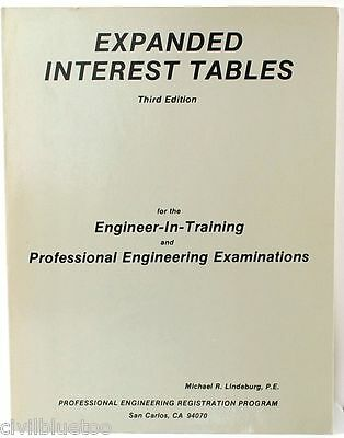 Expanded Interest Tables for Engineering Examinations Lindeburg