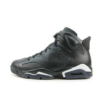 "NIKE AIR JORDAN 6 RETRO VI ""BLACK CAT"" 384664-020 SZ 8 - 11 US Black Ball Shoes"