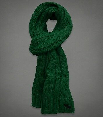 NWT ABERCROMBIE & FITCH Mens Knitted Scarf ***100% AUTHENTIC***