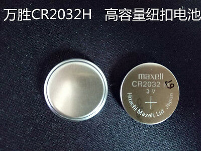 1PCS NEW Maxell CR2032H Button cell 3V large capacity battery #T3443 YS