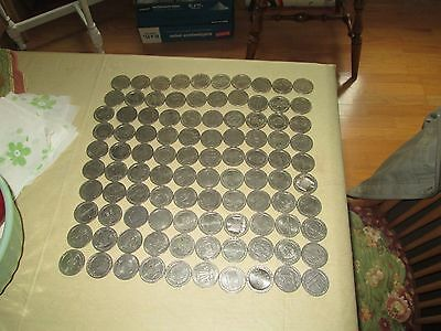 Nice Lot Of 100 Casino Gaming Tokens Most From Nevada, Las Vegas