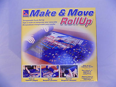 Make & Move RollUp Puzzle Mat by Sure-Lox Up To 1000 Piece Puzzle