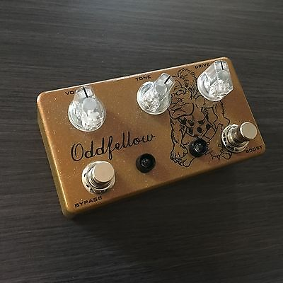 ODDFELLOW EFFECTS CAVEMAN DRIVE - Overdrive & Boost Guitar Pedal