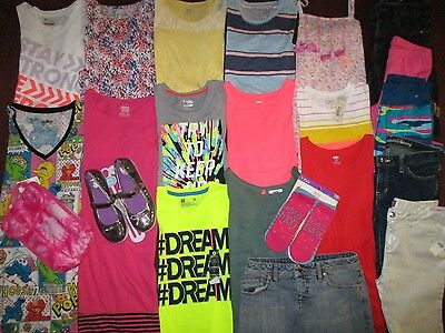 Girls Size 14 16 BACK TO SCHOOL Lot NAME BRAND Clothes & Outfits NWT'S