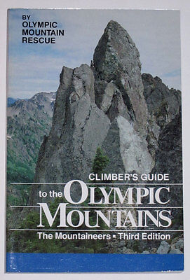 Climber's Guide to the Olympic Mountains Climbing Rock Guide Book - NEW