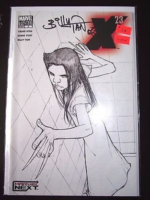 X-23 #2 Limited Edition Sketch variant signed by Billy Tan FNVF