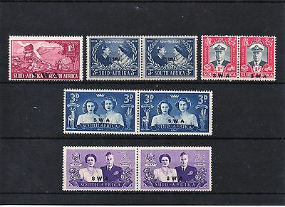 SOUTH AFRICA - Pre-Decimal MINT Stamps