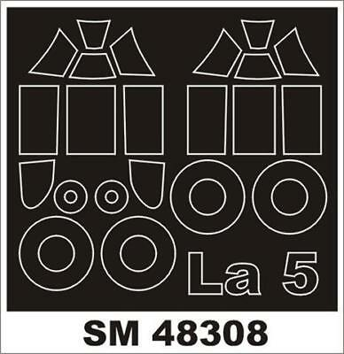 SM14410 Montex 1//144 canopy masks for the IL-86 by Revell