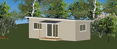 1 Bedroom DIY Granny Flat Kit - The Studio 30 for your slab