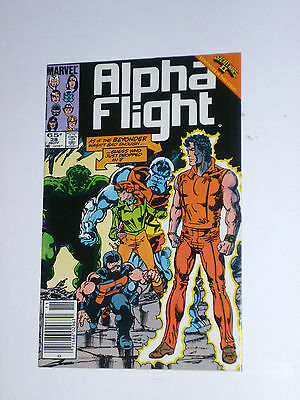 Alpha Flight (1983 Series) 28 - Nov 1985 - NM/9.4 - John Byrne