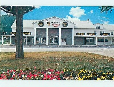 Unused Pre-1980 SPACE FARMS ZOOLOGICAL PARK Sussex New Jersey NJ hk5803