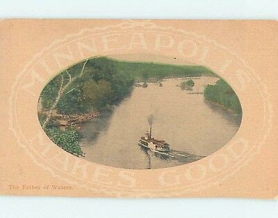 Divided-Back POSTCARD FROM Minneapolis Minnesota MN HM7225