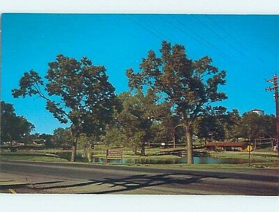 Unused Pre-1980 PARK SCENE Yankton South Dakota SD hk5745
