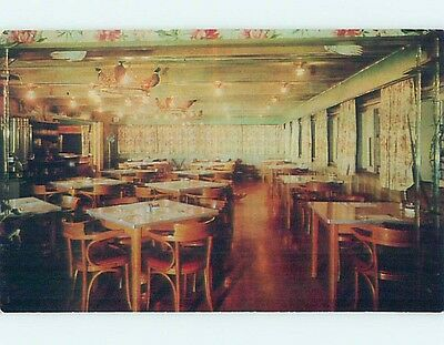 Unused Pre-1980 RESTAURANT SCENE Custer South Dakota SD hk4753-12
