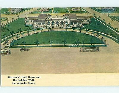 Unused Divided-Back POSTCARD FROM San Antonio Texas TX HM5898