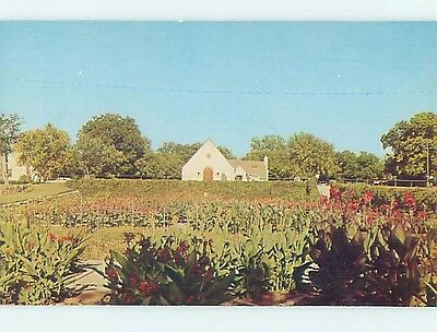 Unused Pre-1980 PARK SCENE San Angelo Texas TX hk5857
