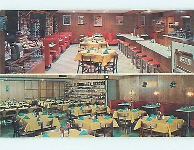 Unused Pre-1980 RESTAURANT SCENE Chamberlain South Dakota SD hk4633