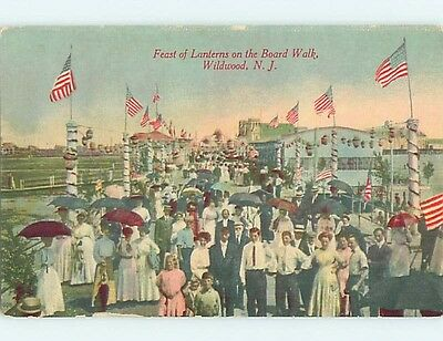 Unused Divided-Back FEAST OF LANTERNS PARTY Wildwood New Jersey NJ HM5503