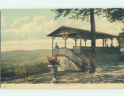 Divided-Back POSTCARD FROM Pen Mar - Near Rouzerville Pennsylvania PA HM8024